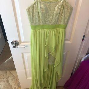 PROM HIGH LOW DRESS